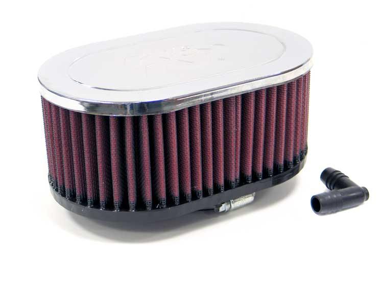K&N RA-077V Universal Clamp-On Air Filter