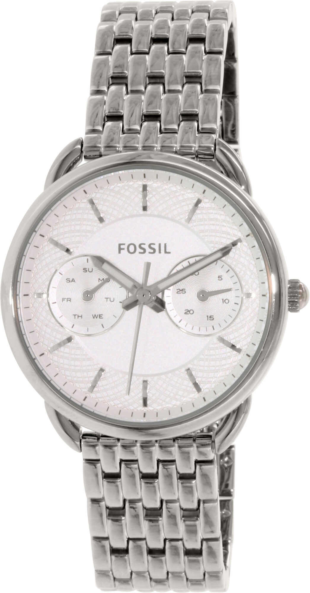 Fossil Women's Tailor ES3712 Silver Stainless-Steel Plated Japanese Quartz Fashion Watch