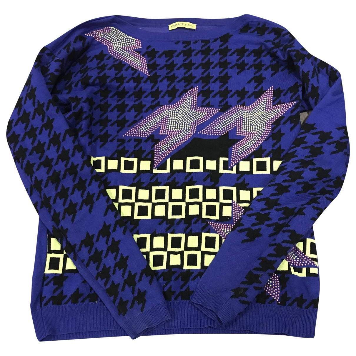 Versace Jeans \N Navy Knitwear for Women 36 FR