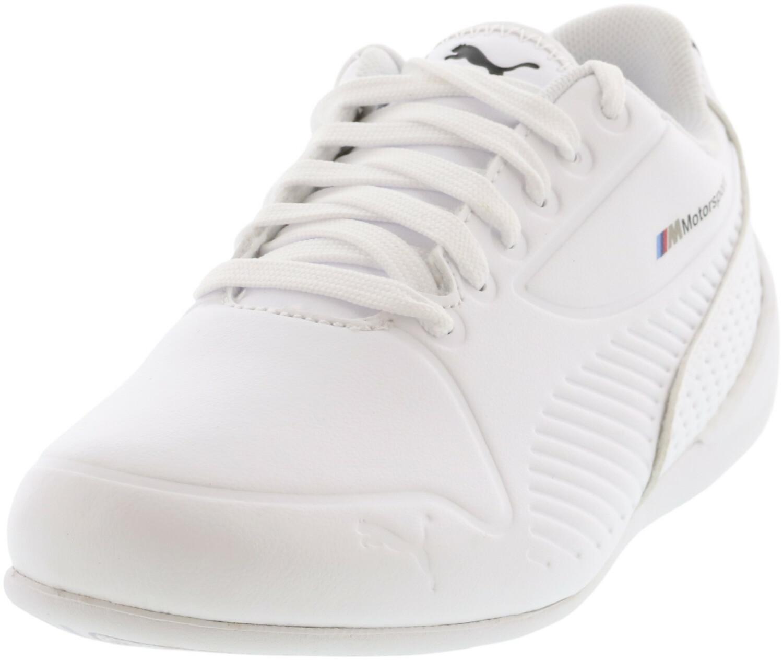 Puma Men's Bmw Mms Drift Cat 7S Ultra White / Black Walking - 4M