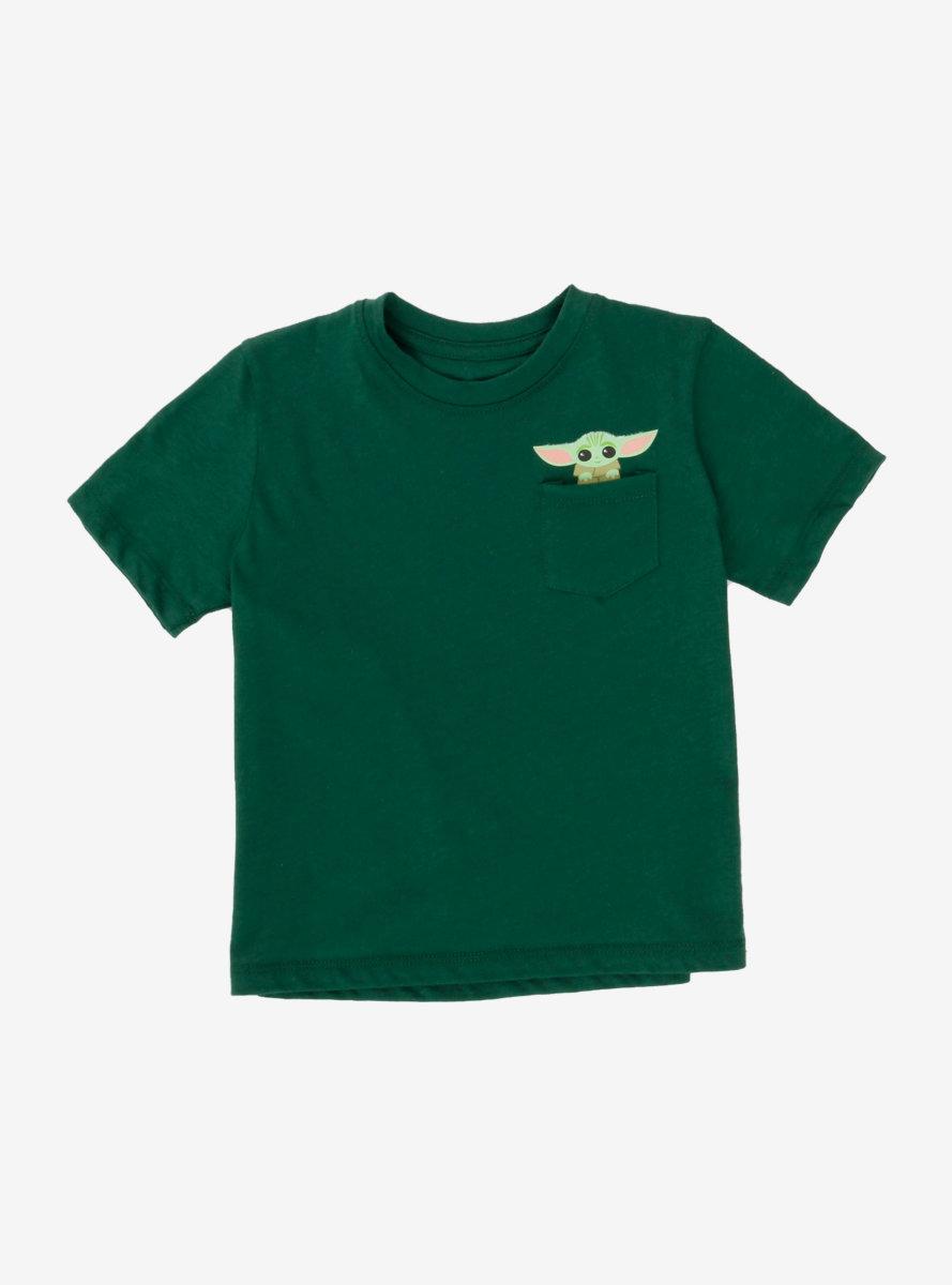 Star Wars The Mandalorian The Child Chibi Pocket Toddler T-Shirt