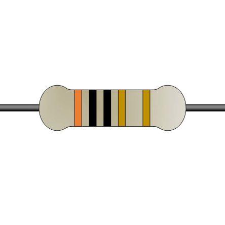 Yageo 10Ω Wirewound Wirewound Resistor 2W 5% FKN2WSJT-52-10R (1000)