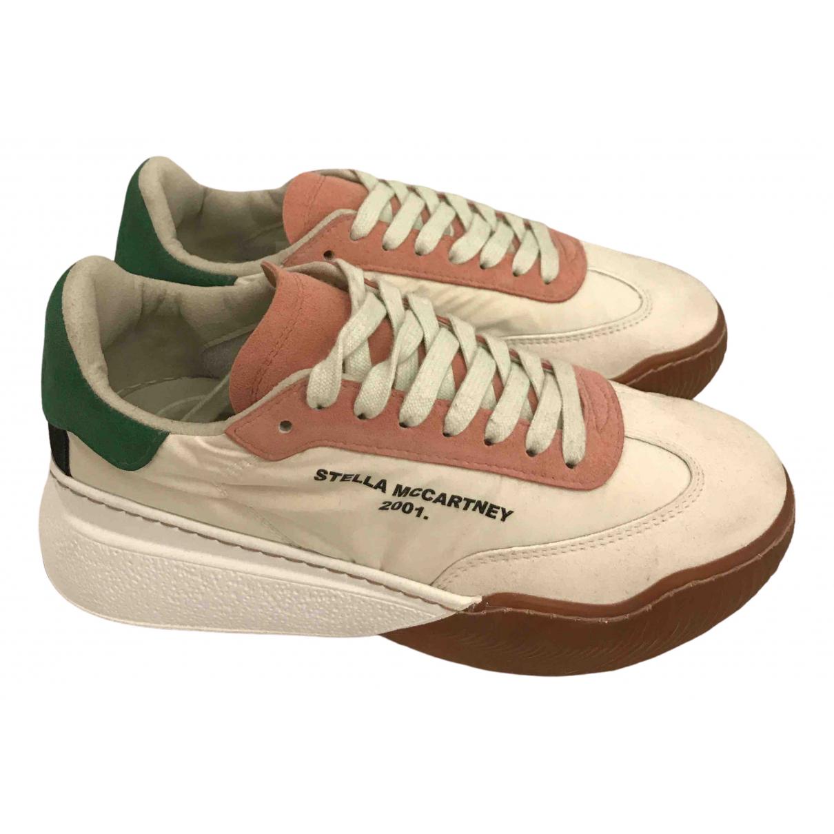 Stella Mccartney \N Sneakers in  Ecru Leinen