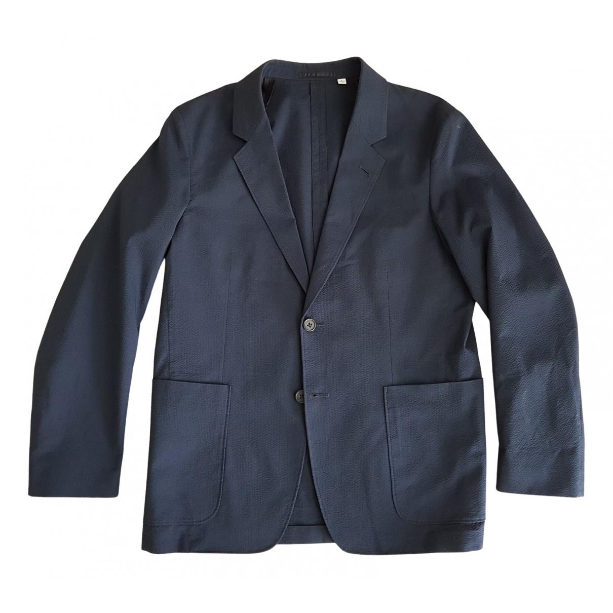 Uniqlo \N Navy Cotton jacket  for Men S International