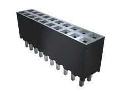 Samtec , SQT 2mm Pitch 16 Way 2 Row Vertical PCB Socket, Through Hole, Solder Termination (34)