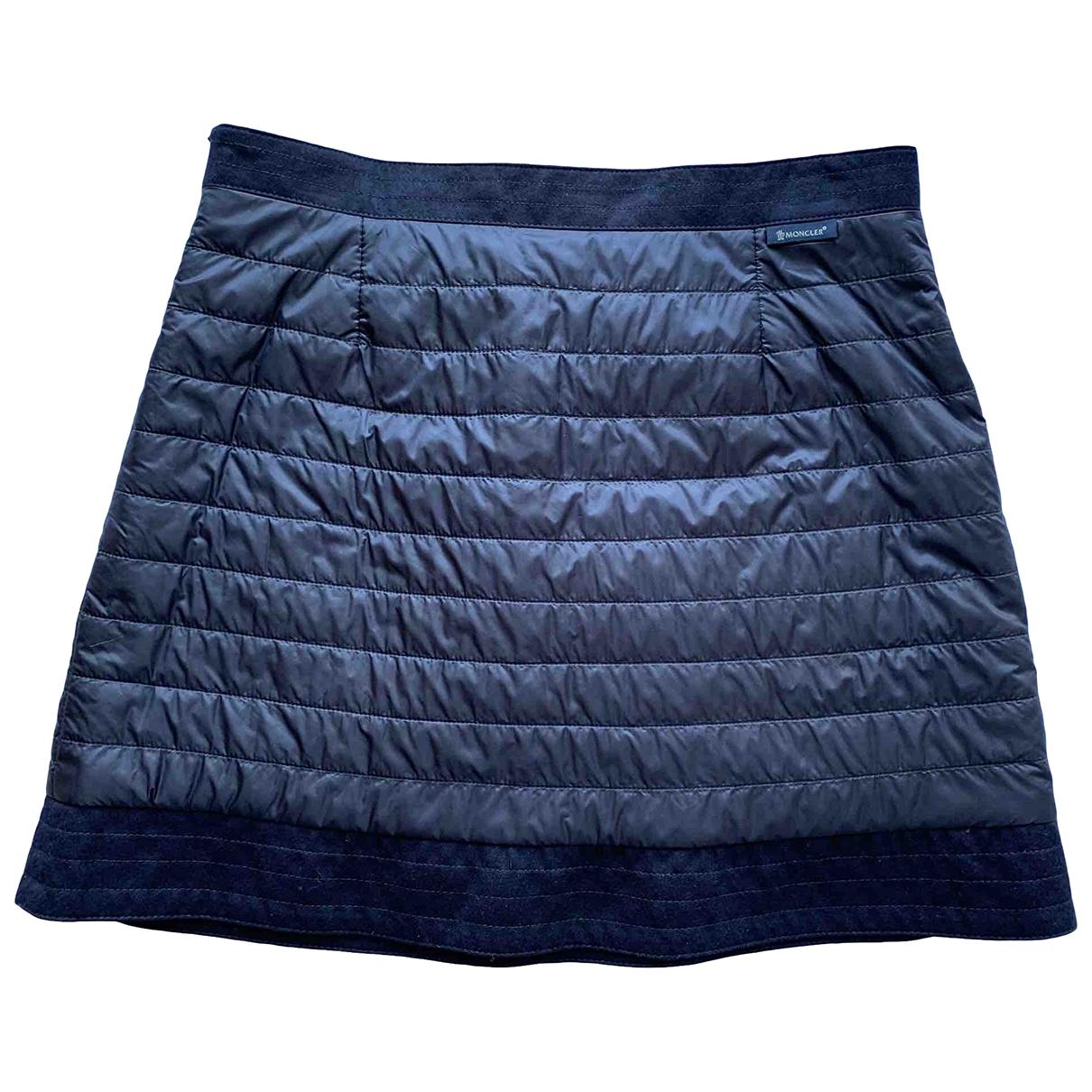 Moncler \N Rocke in  Marine Polyester