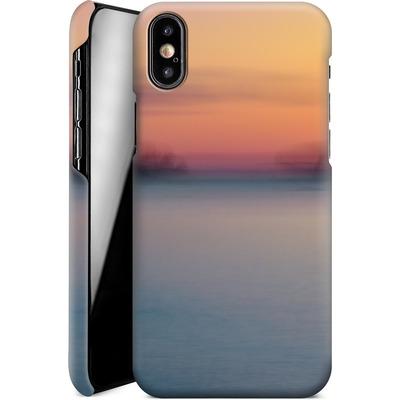 Apple iPhone XS Smartphone Huelle - Sea Sunset Abstract 2 von Joy StClaire