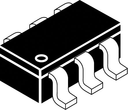 Infineon TVS3V3L4UE6327HTSA1, Uni-Directional TVS Diode, 6-Pin SC-74 (15)