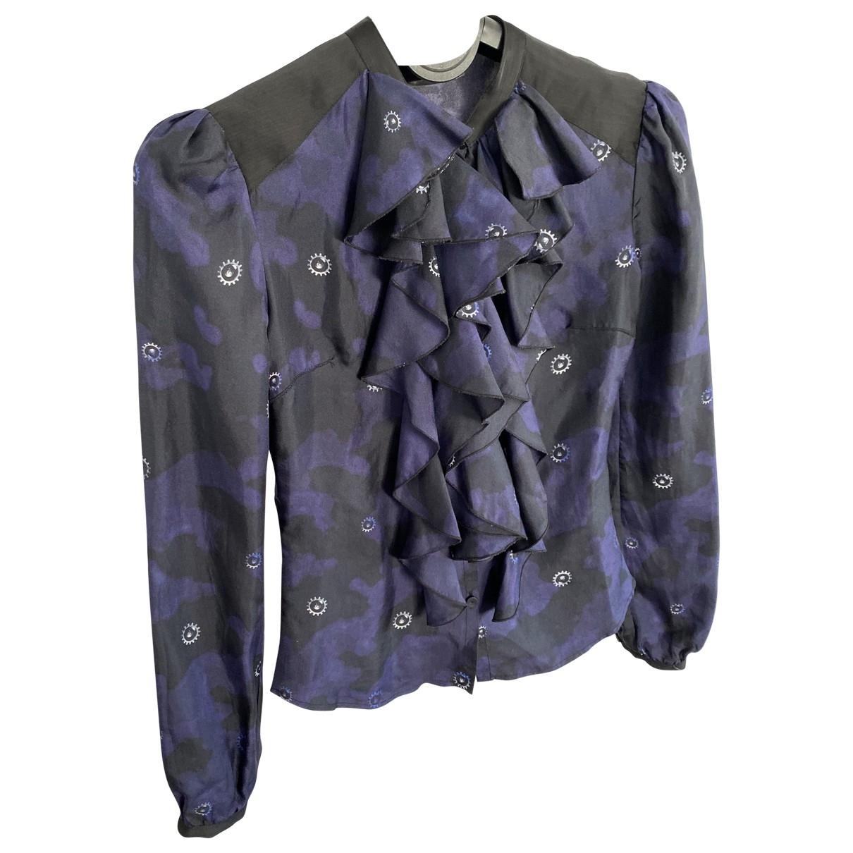 Camisa de Seda Alexander Mcqueen