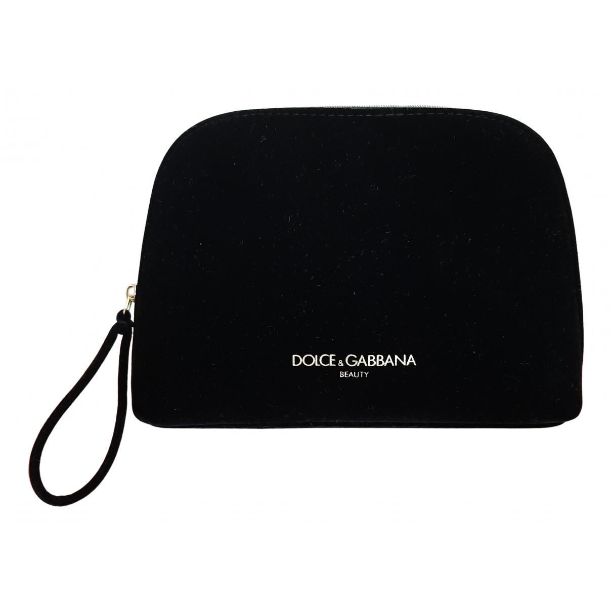 Dolce & Gabbana - Sac de voyage   pour femme en velours - noir