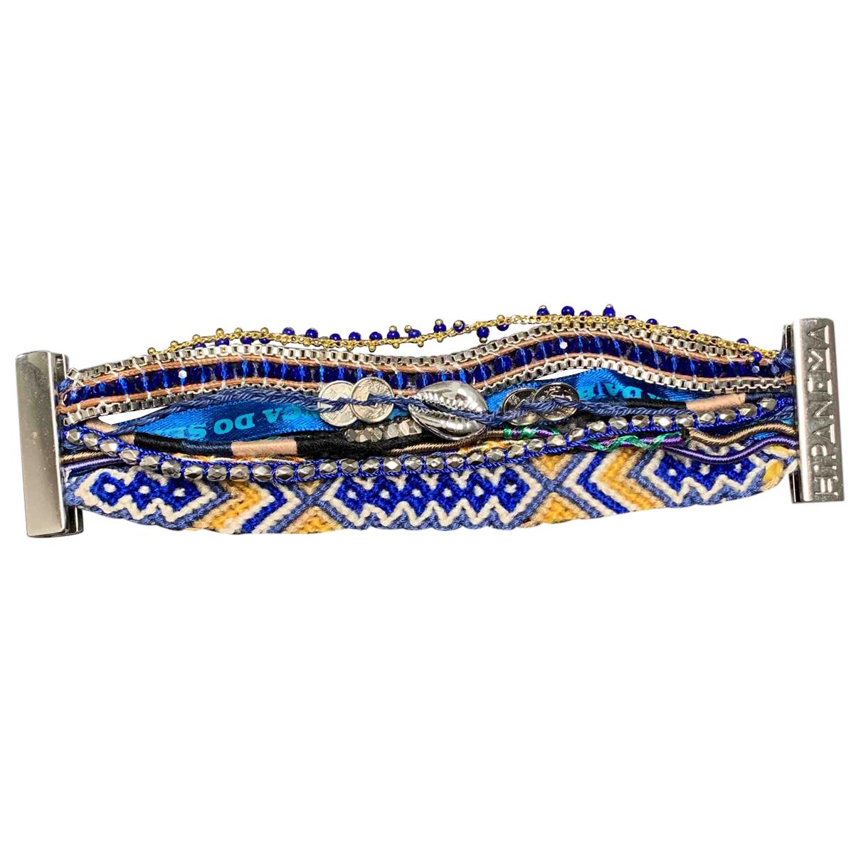 Hipanema \N Armband Blau