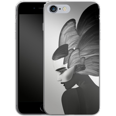 Apple iPhone 6s Plus Silikon Handyhuelle - Lady D von Mark Ashkenazi