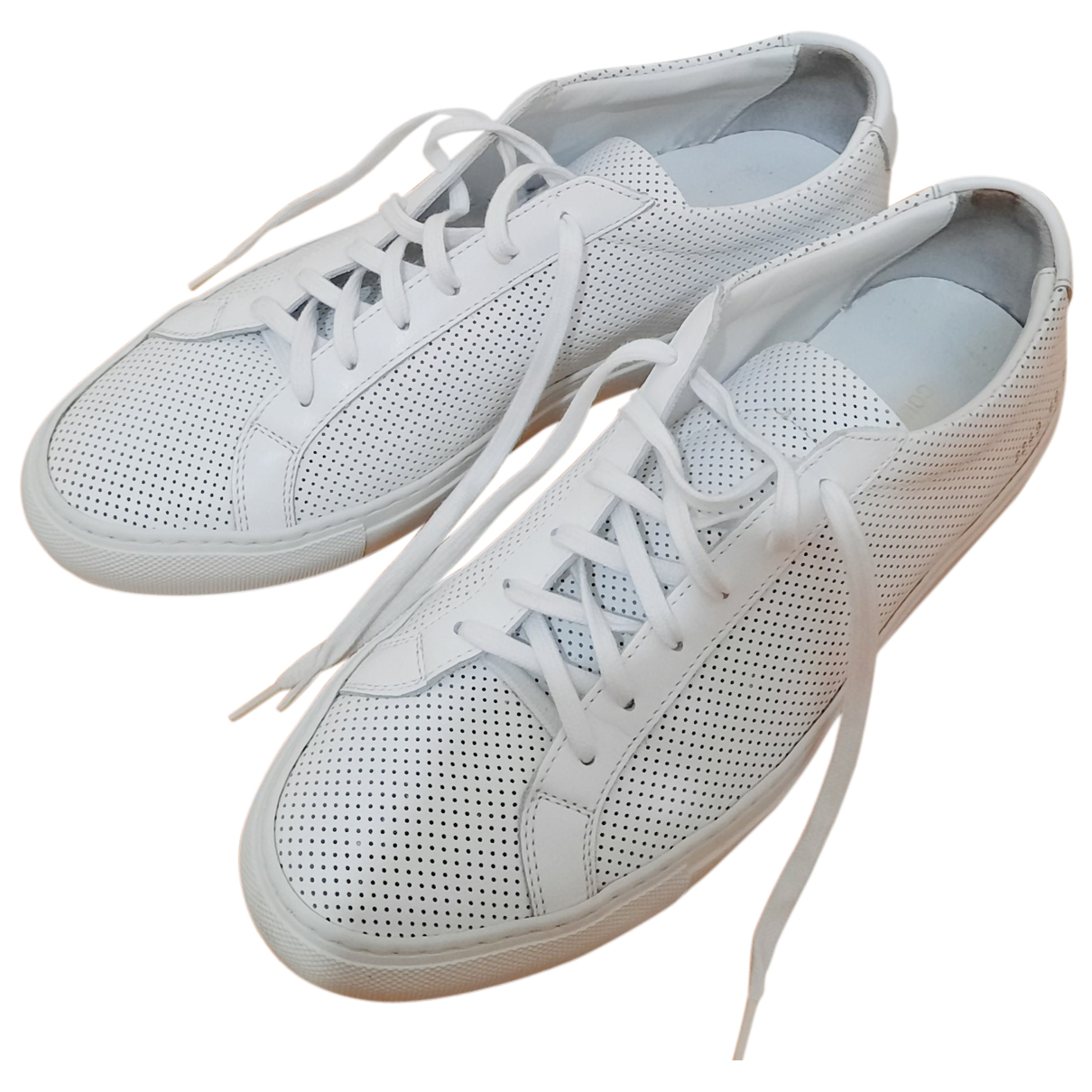Common Projects - Baskets   pour homme en cuir - blanc