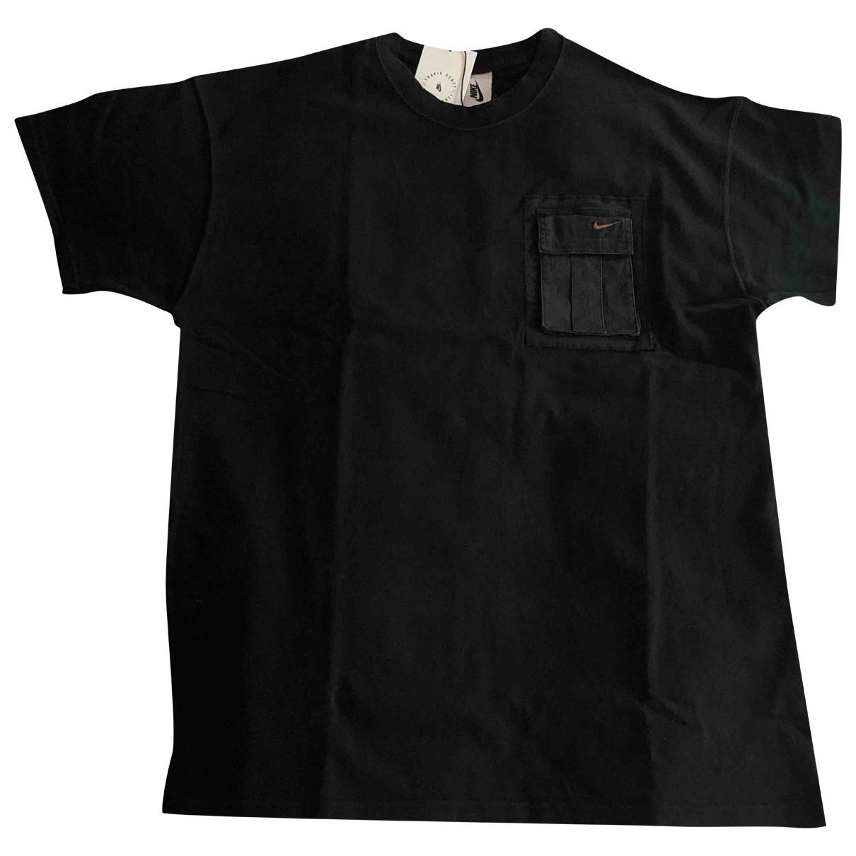 Nike X Travis Scott \N T-Shirts in  Schwarz Baumwolle