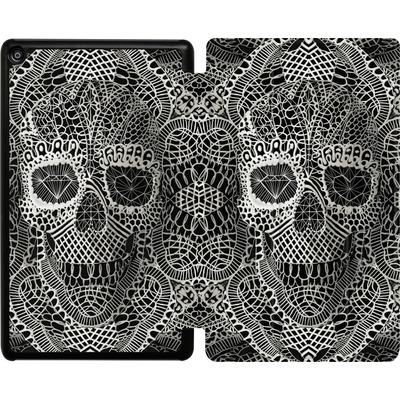 Amazon Fire HD 8 (2018) Tablet Smart Case - Lace Skull von Ali Gulec