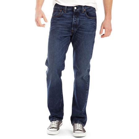 Levi's 501 Original Fit Jeans-Big & Tall, 48 34, Blue