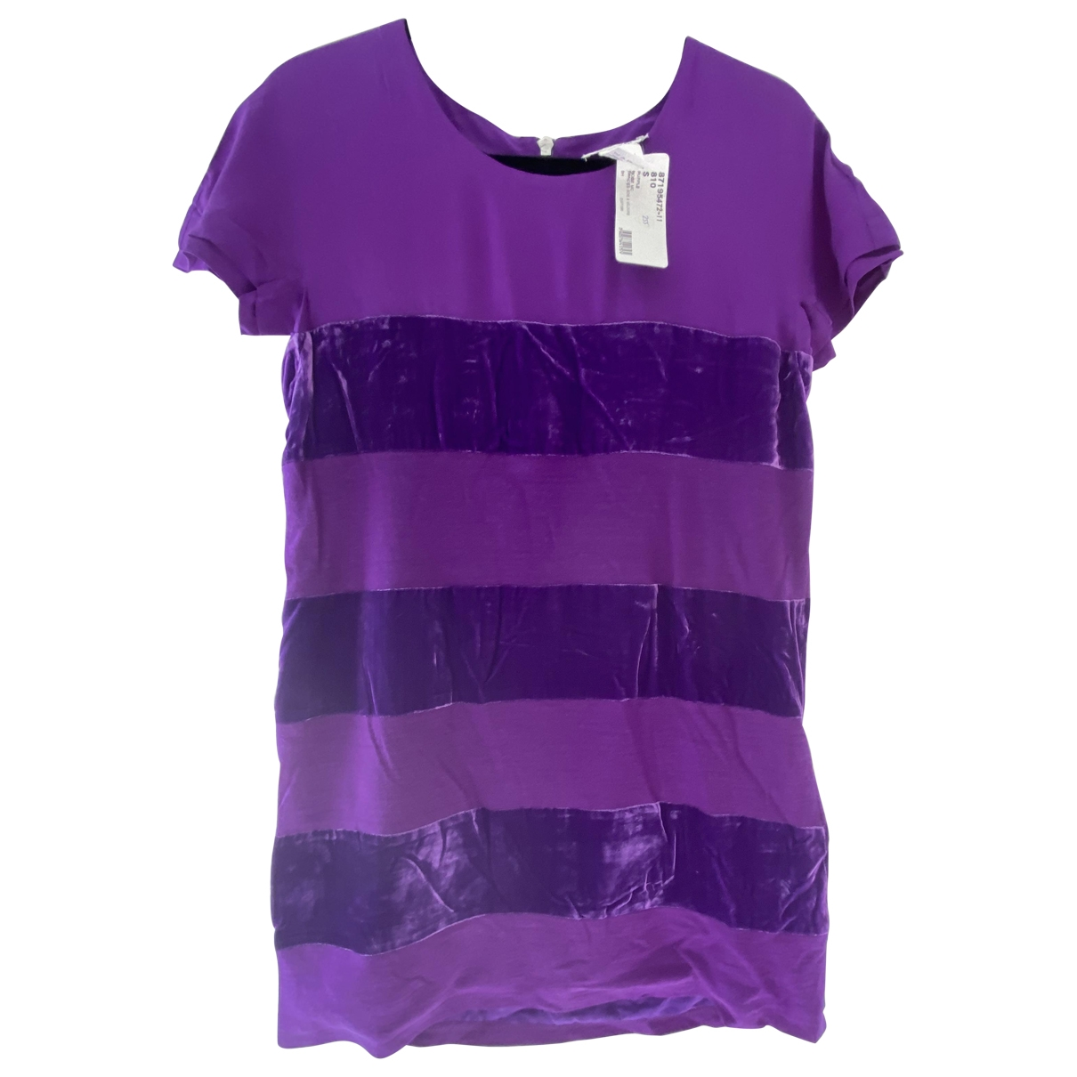 Sonia By Sonia Rykiel \N Purple Velvet dress for Women S International