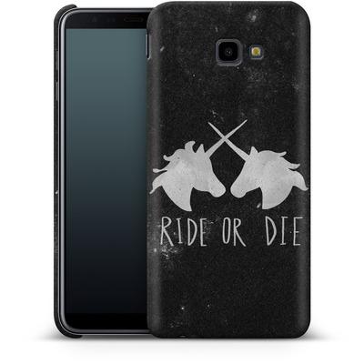 Samsung Galaxy J4 Plus Smartphone Huelle - Ride or Die von Leah Flores