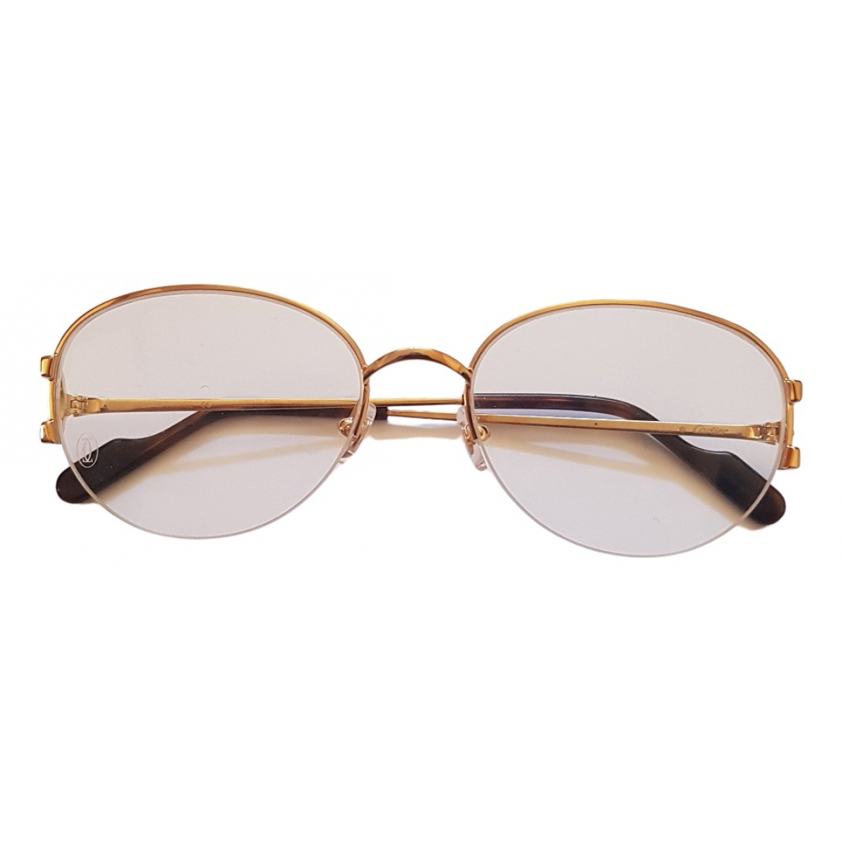 Cartier \N Gold Metal Sunglasses for Women \N