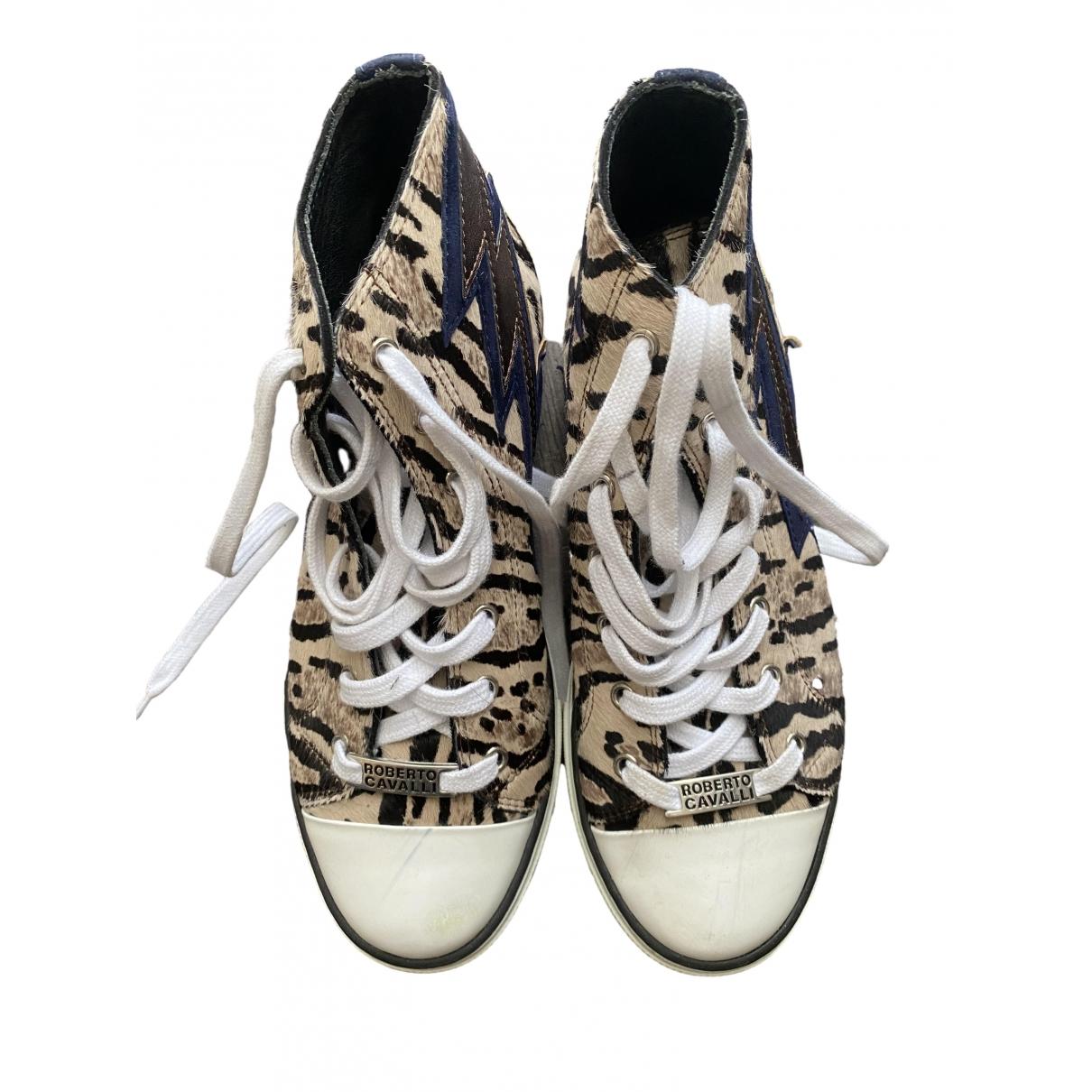Roberto Cavalli \N Sneakers in Veloursleder