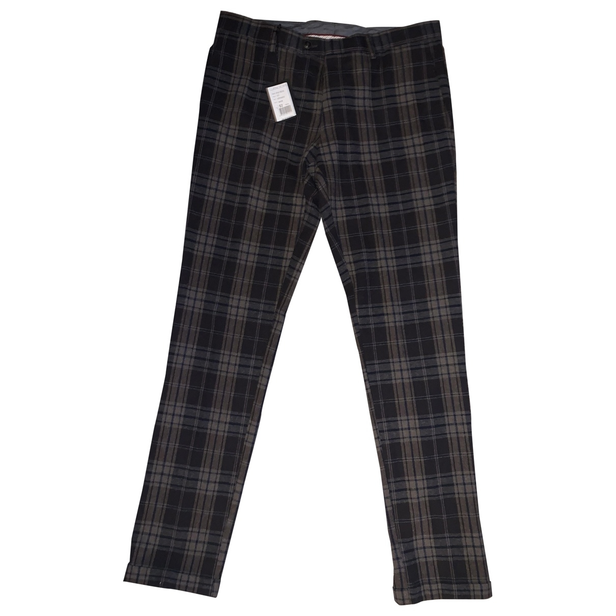 Non Signé / Unsigned \N Trousers for Men 52 IT
