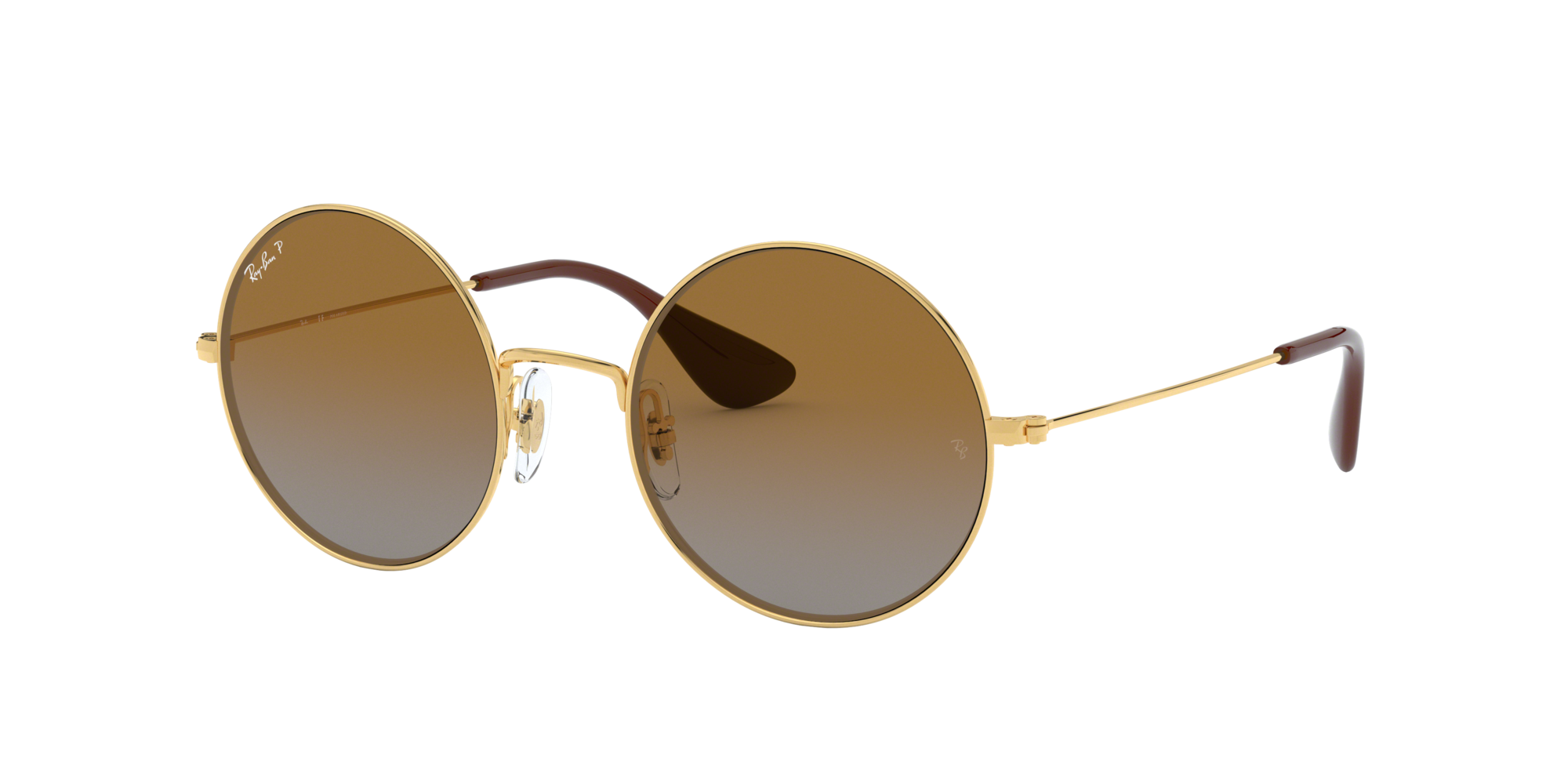 Ray Ban Unisex  RB3592 JA-JO -  Frame color: Or, Lens color: Marron, Size 55-20/145