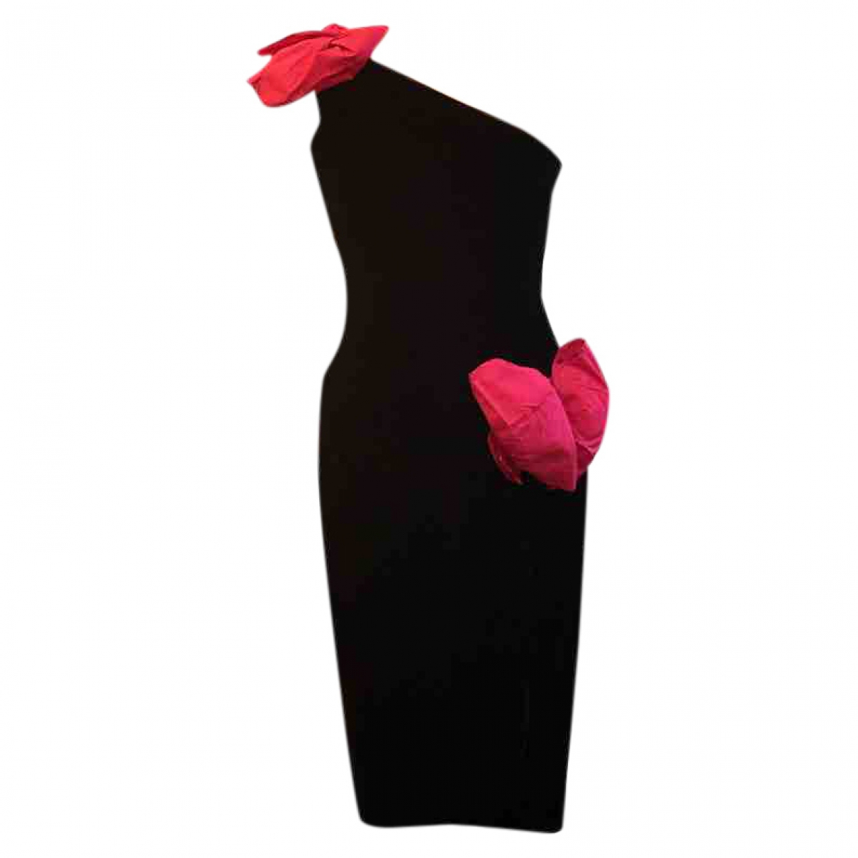 Oscar De La Renta \N Kleid in  Schwarz Samt