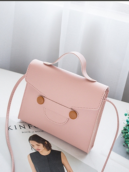 Yoins Simple Style Button Deisgn CrossBody Bags