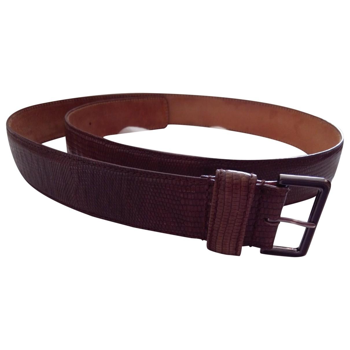 Furla \N Camel Leather belt for Women S International