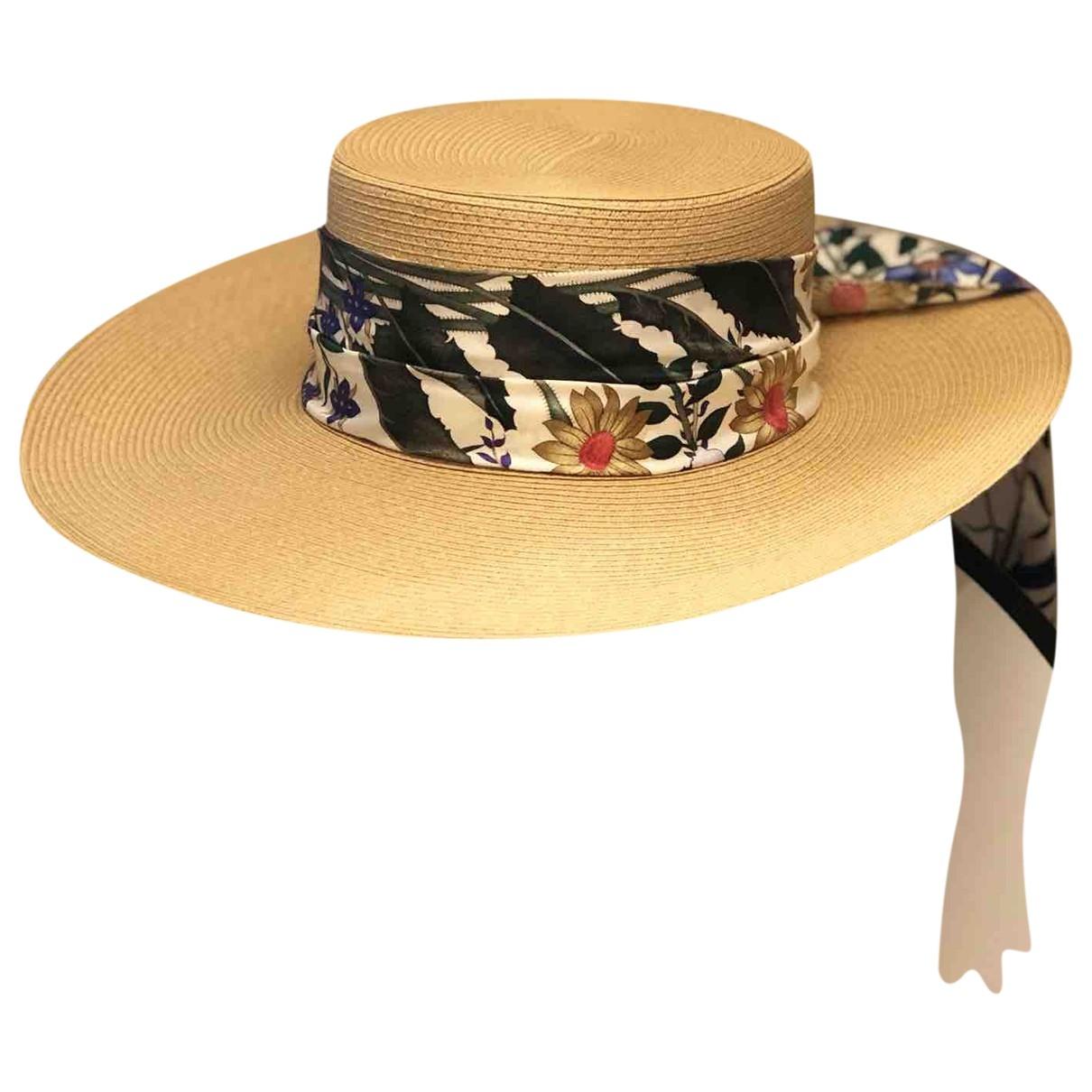 Gucci \N Beige Wicker hat for Women S International
