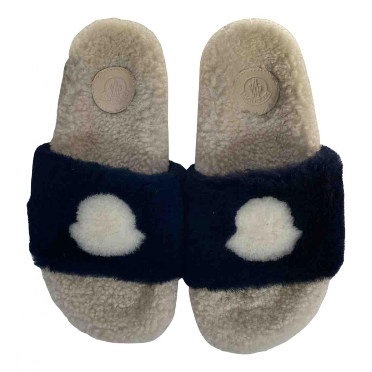 Moncler - Sandales   pour femme en mouton