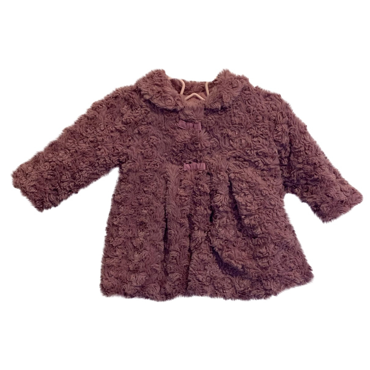 Non Signe / Unsigned \N Jacke, Maentel in  Rosa Polyester