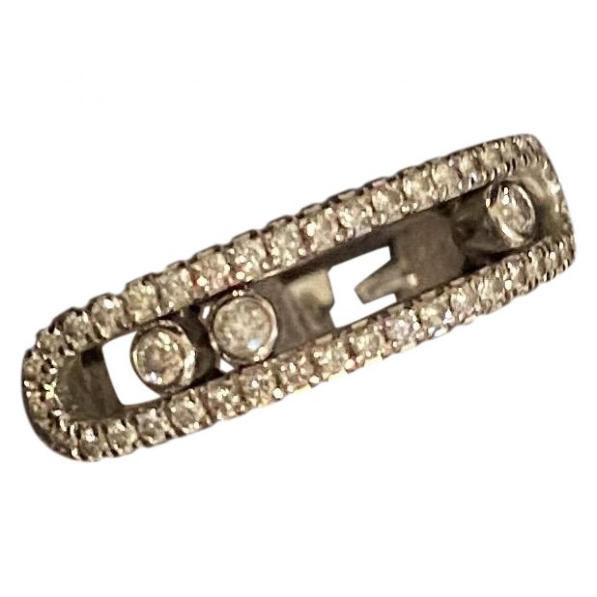 Messika Move Classique Ring in  Silber Weissgold