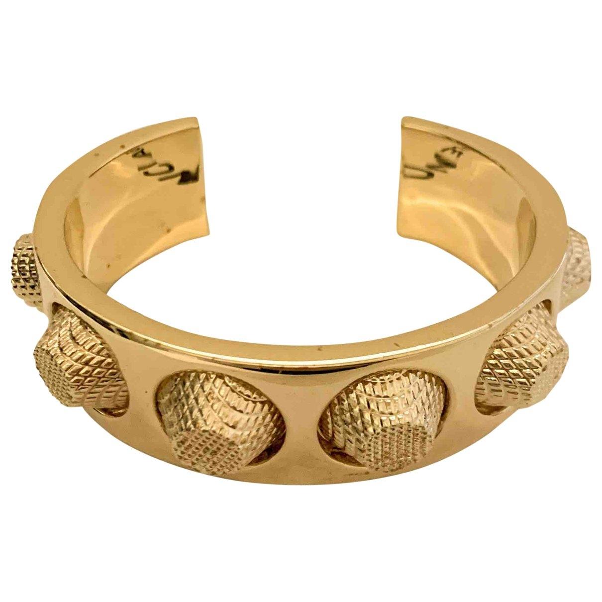 Balenciaga \N Gold Metal bracelet for Women \N