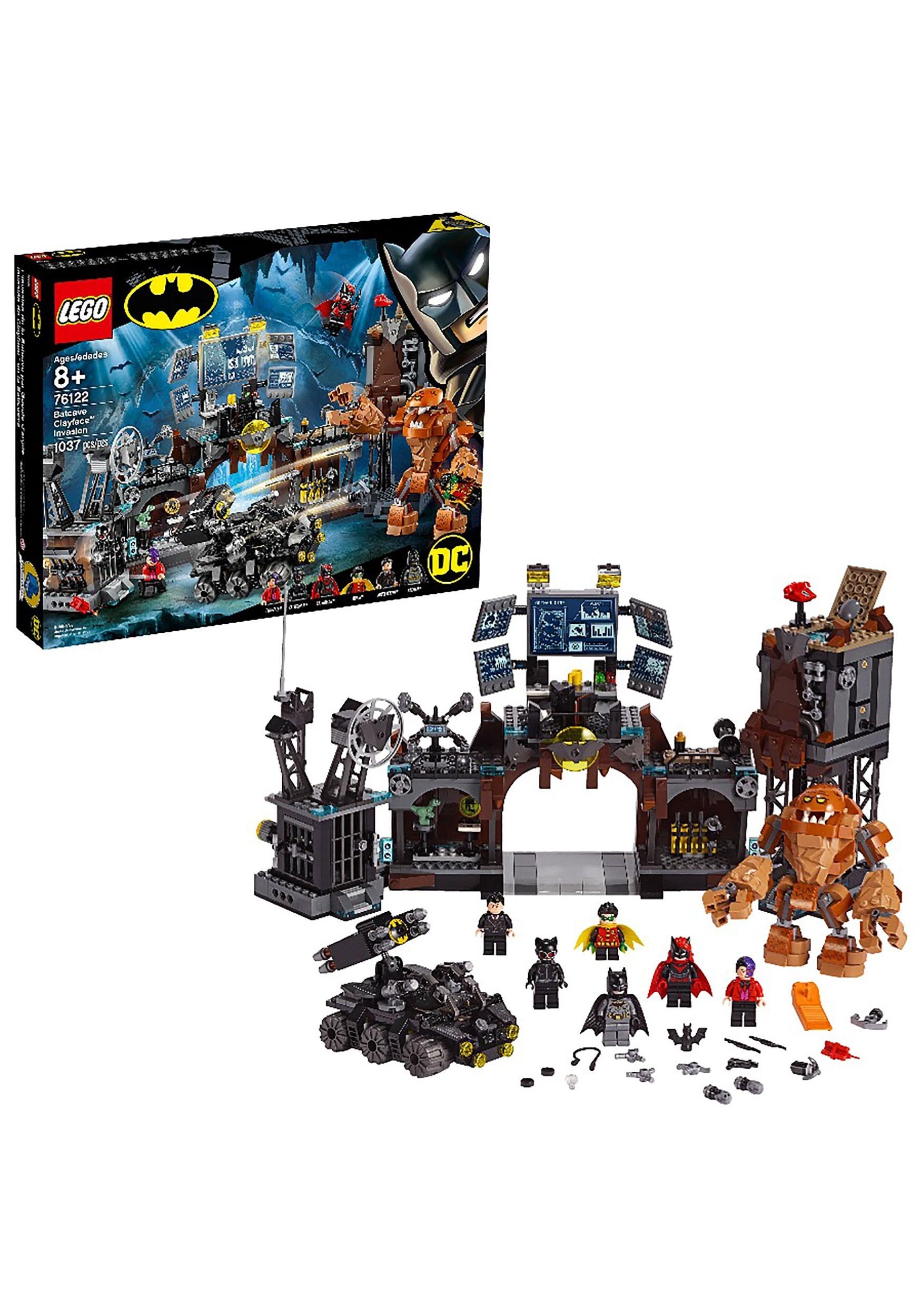 Super Heroes Batcave Clayface Invasion LEGO Set