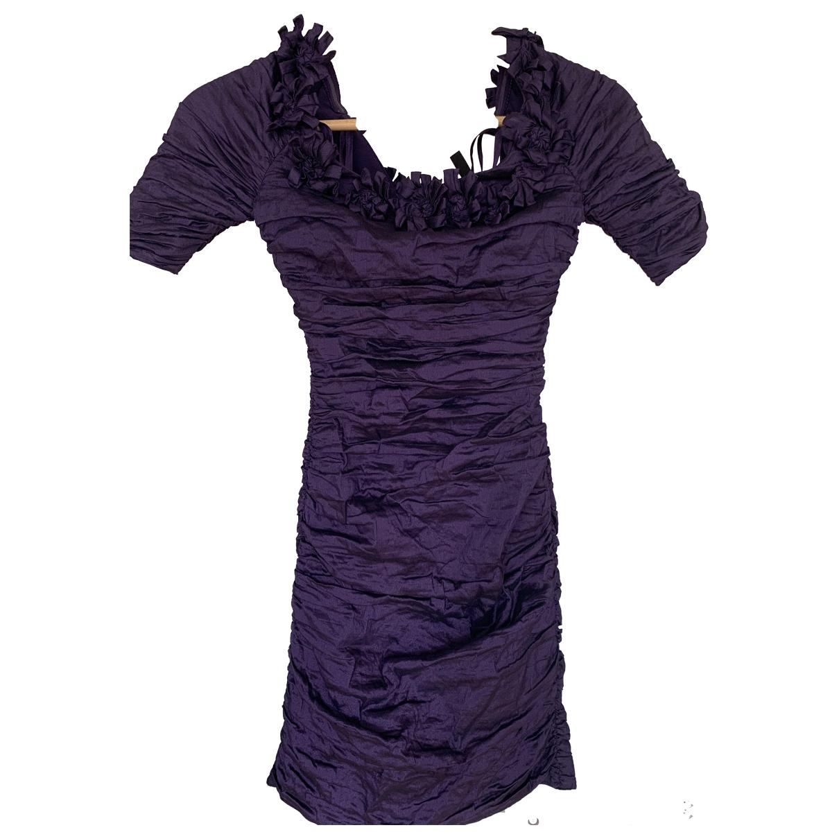 Bcbg Max Azria - Robe   pour femme - violet