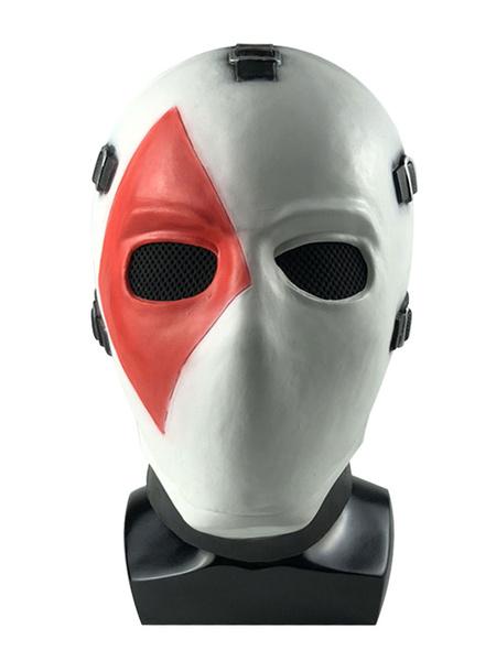 Milanoo Fortnite Battle Royale Wild Card Poker Mask Headwear Cosplay Costume Halloween