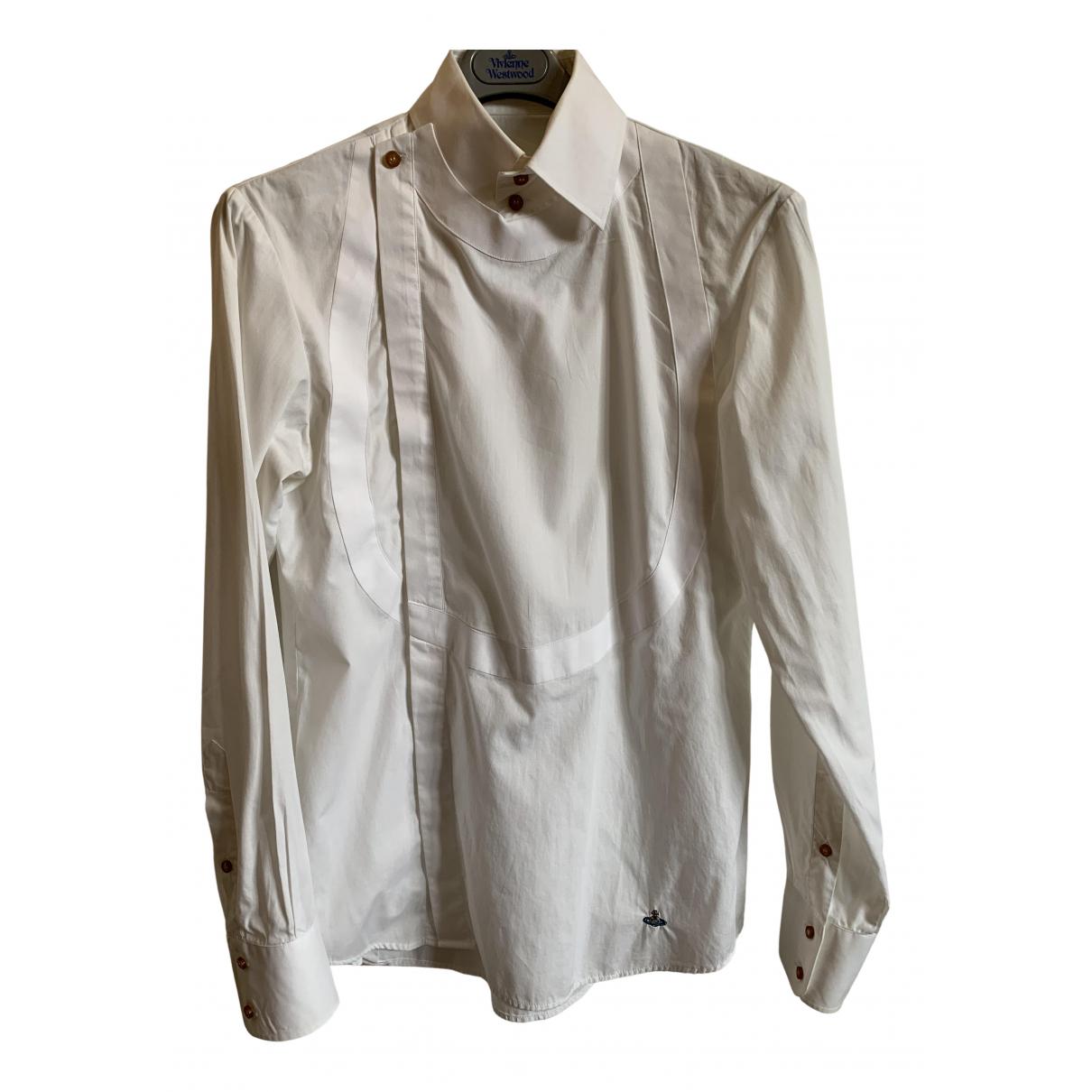 Vivienne Westwood - Chemises   pour homme en coton - blanc