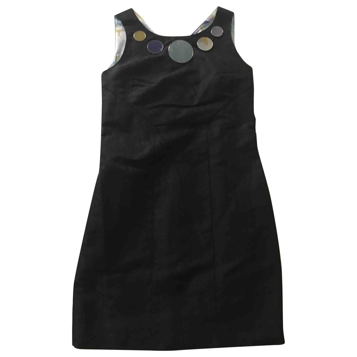 Emilio Pucci - Robe   pour femme en soie - noir