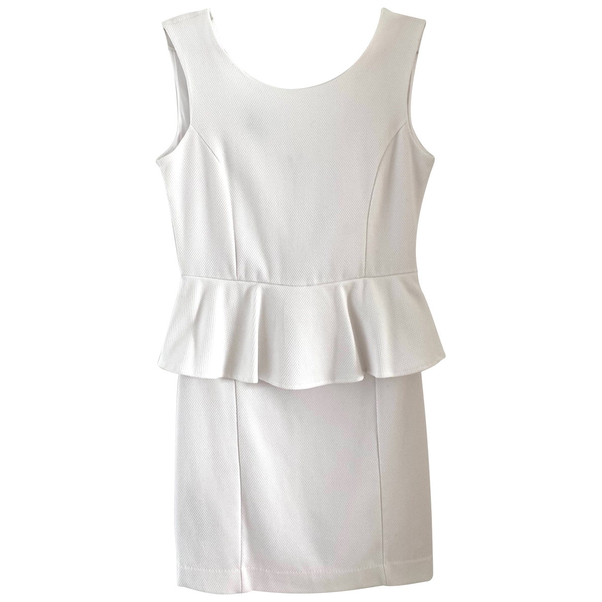 Uterque \N Kleid in  Weiss Polyester