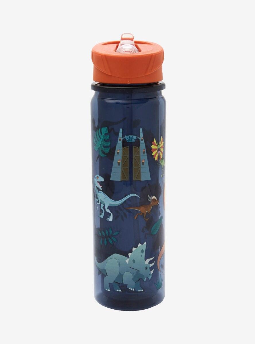 Jurassic World Dinosaurs Water Bottle - BoxLunch Exclusive