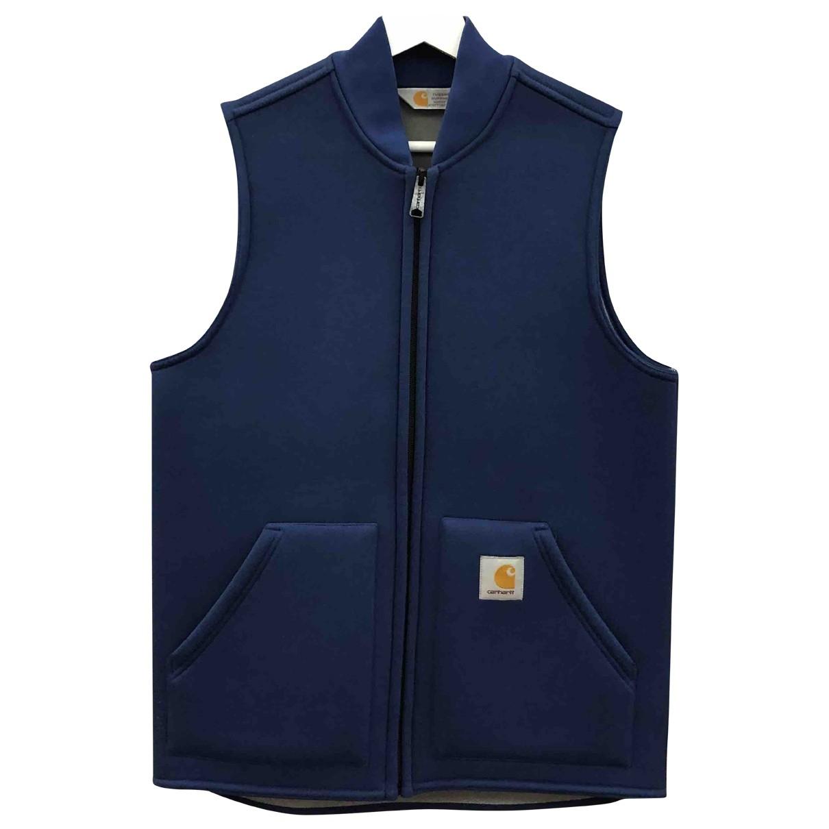 Carhartt \N Pullover.Westen.Sweatshirts  in  Blau Baumwolle