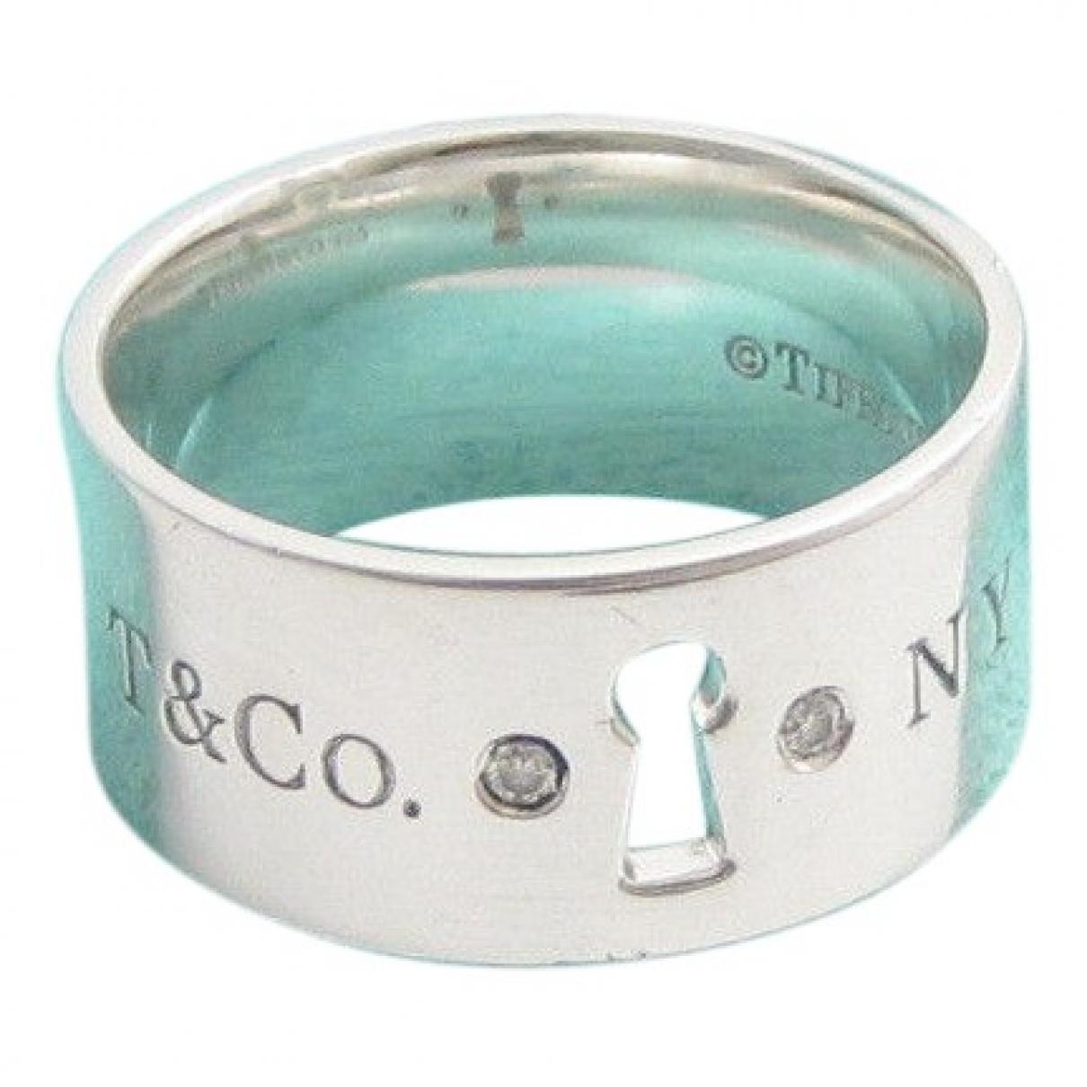 Tiffany & Co - Bague   pour femme en soie - argente