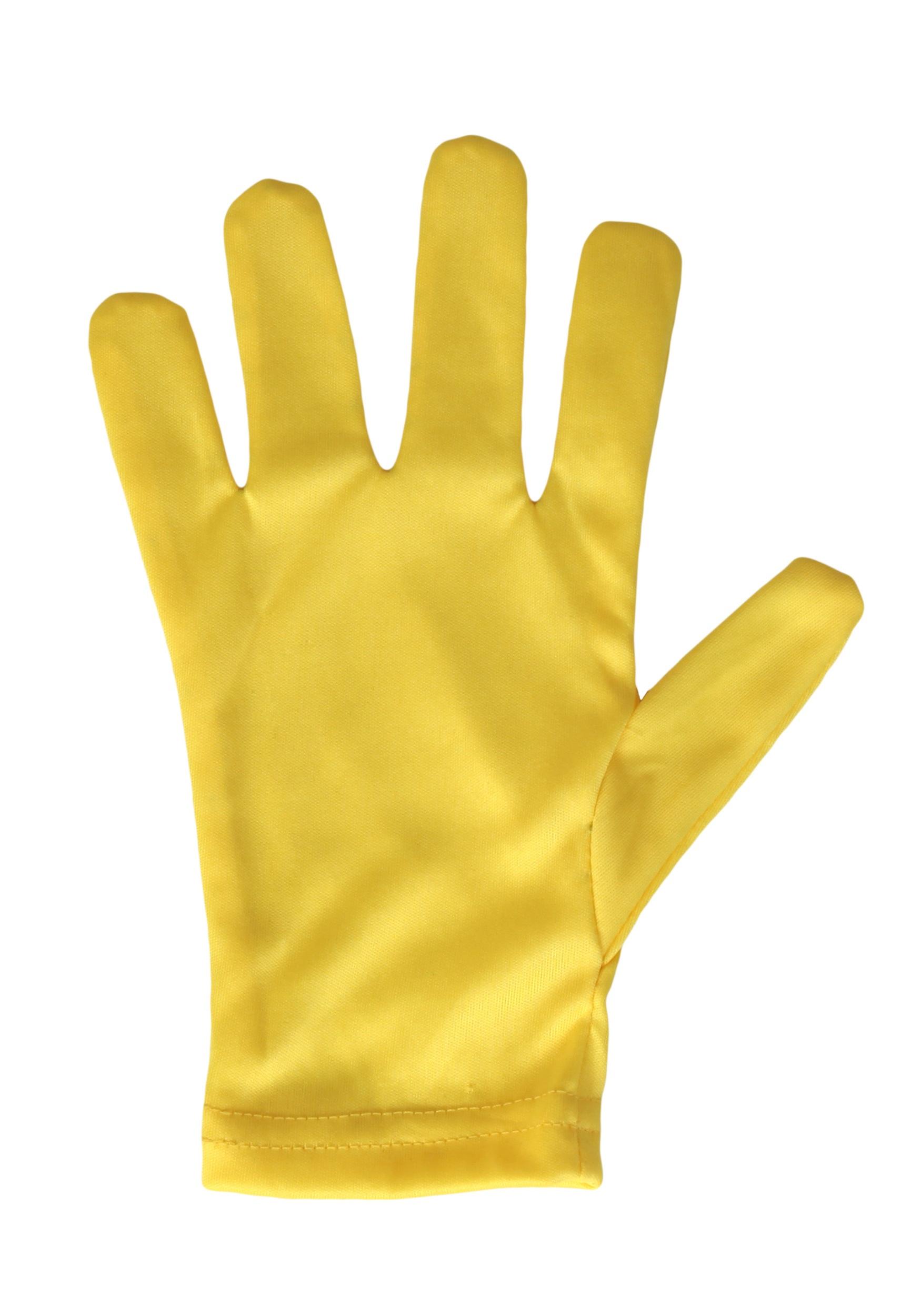 Bright Yellow Gloves