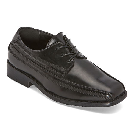 Stacy Adams Toddler Boys Lil Bowman Oxford Shoes, 6 Medium, Black
