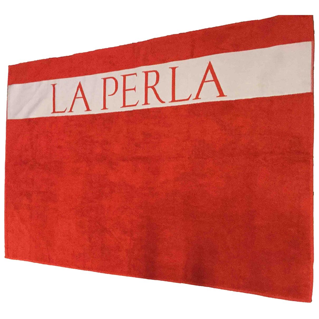 La Perla - Linge de maison   pour lifestyle en coton - rouge