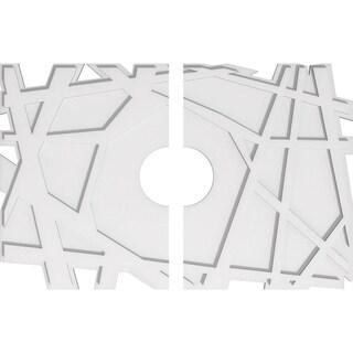 Novo Architectural Grade PVC Contemporary Ceiling Medallion (34