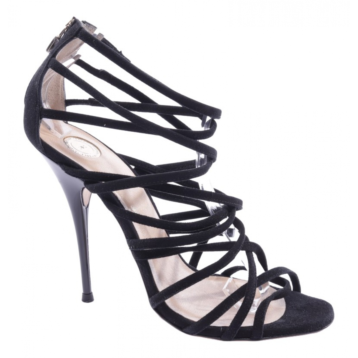 Sandalias de Cuero Elisabetta Franchi