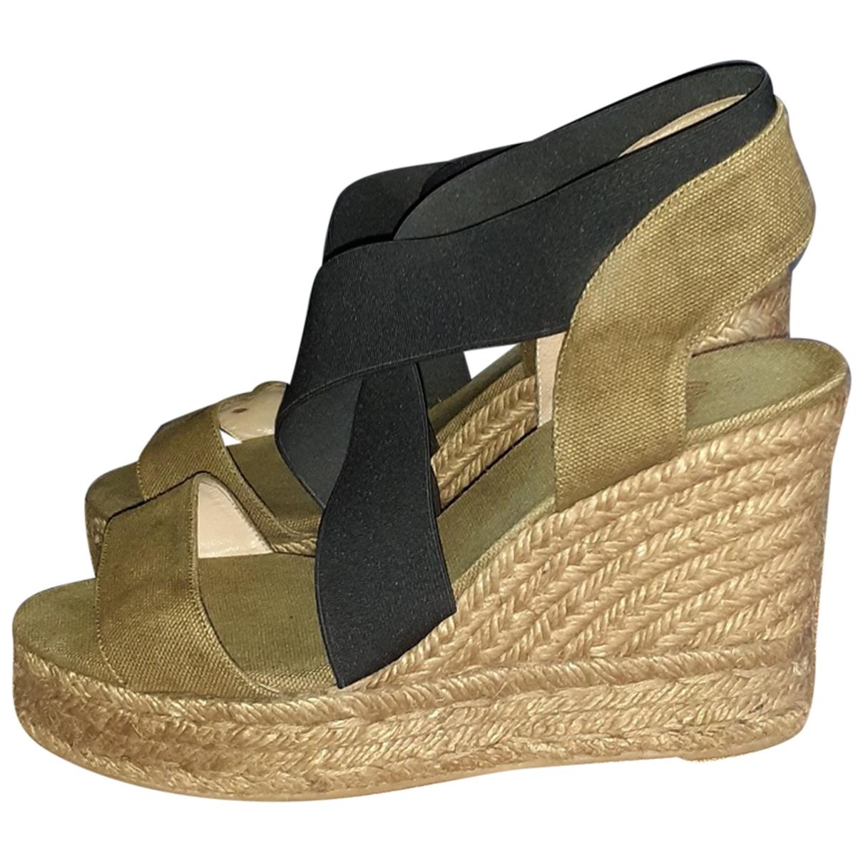 Castaner \N Cloth Heels for Women 38 EU