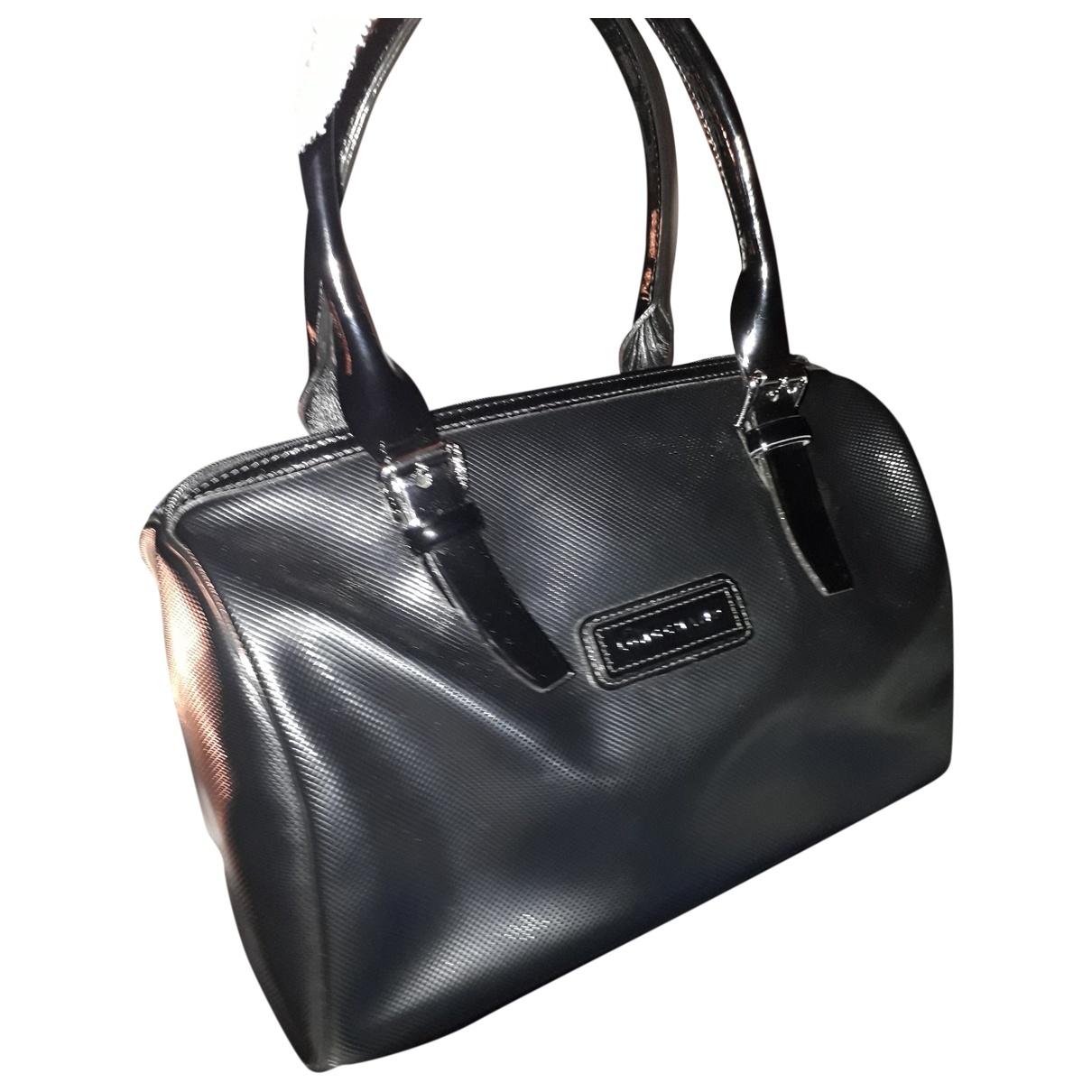 Longchamp - Sac a main   pour femme en cuir - noir